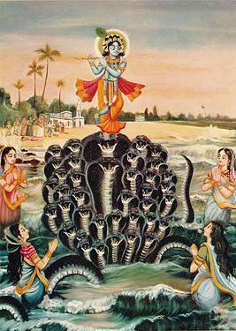 26 Krishnas punishment to Kaliya was actually a benediction p123