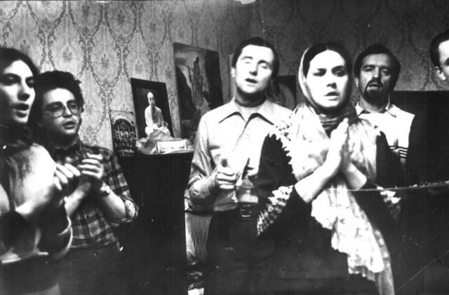 Программа на квартире в Москве. 80-е годы.